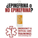 72: Epinefrina en el paro cardiaco fuera del hospital